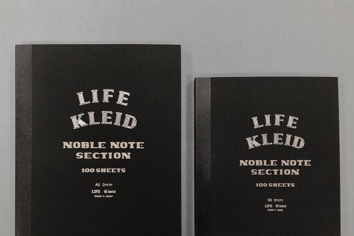 LIFE×kleid ノーブルノートに限定300冊のLimited Editionが登場!