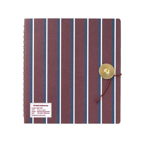 No.8821 British Stripe Burgundy/Navy