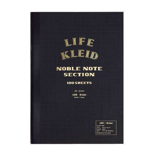 LIFE×kleid Noble note A5